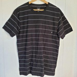 Vans Checkered Small Stripes Short Sleeve Tee